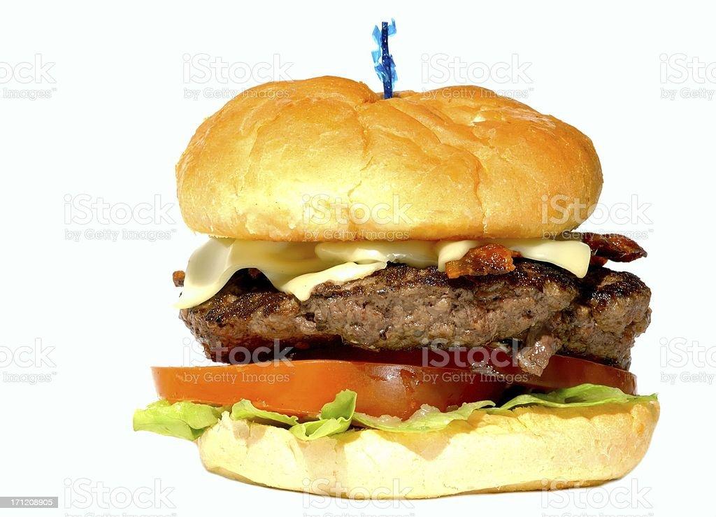 Big BUrger stock photo