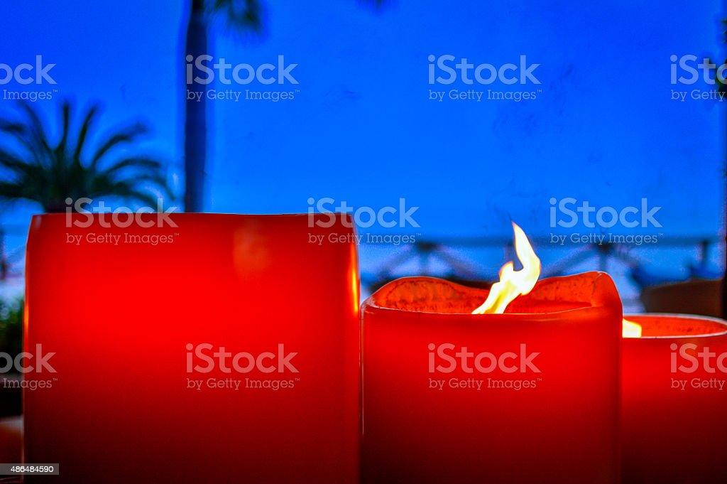 Große Kerzen – Foto