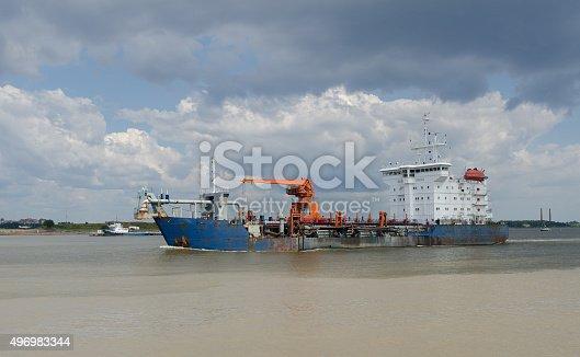 istock big Cargo ship 496983344