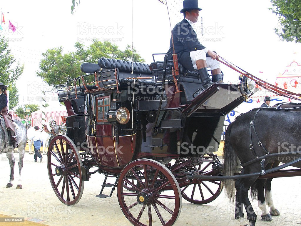 big carriage royalty-free stock photo