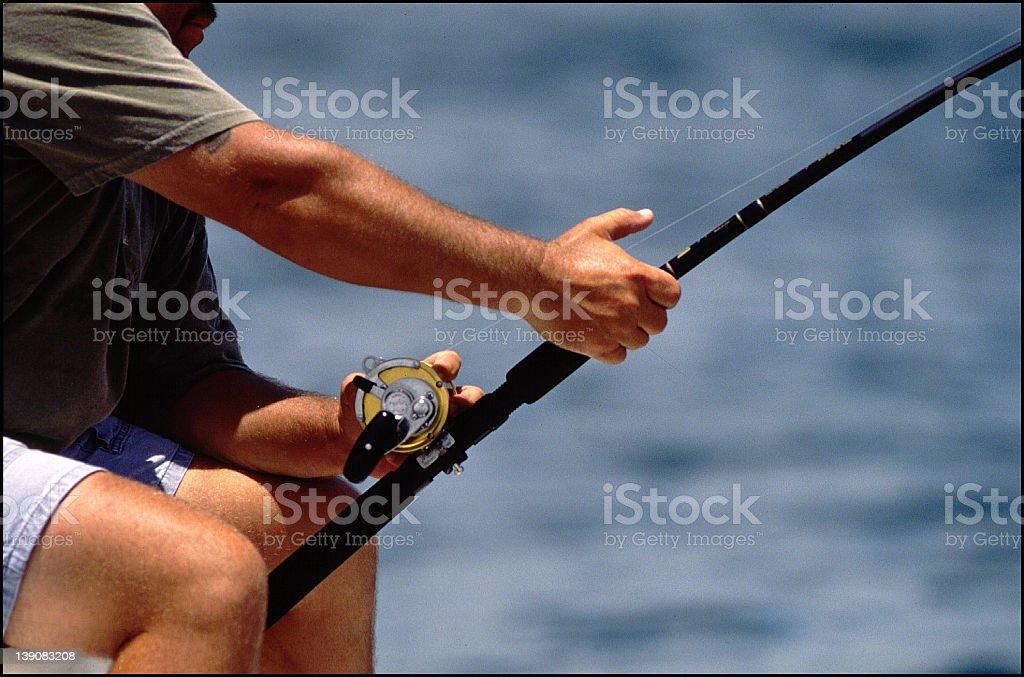 big catch. royalty-free stock photo