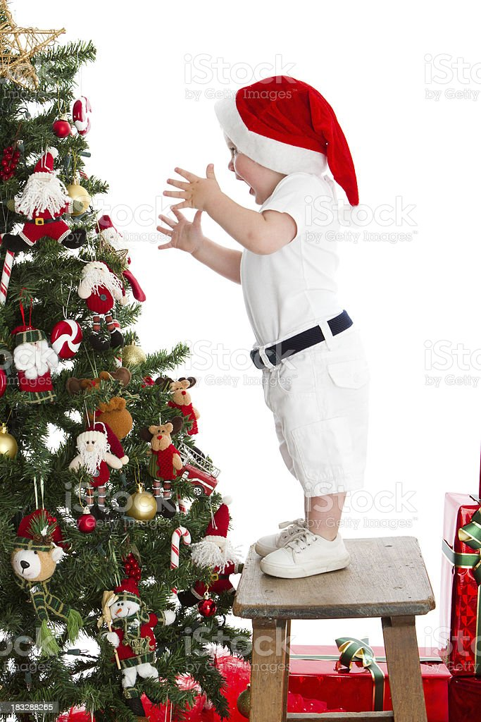 Big Christmas surprise royalty-free stock photo