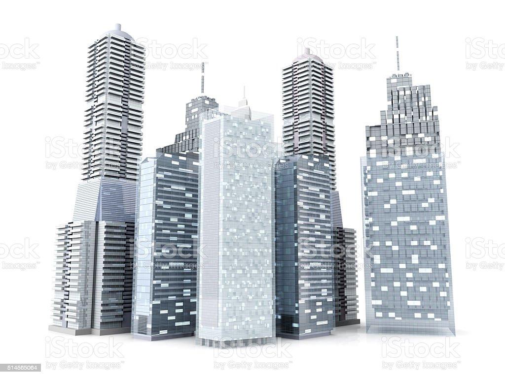 Big City stock photo