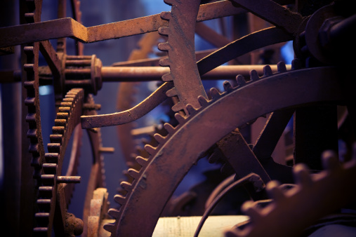 Big Clock gears
