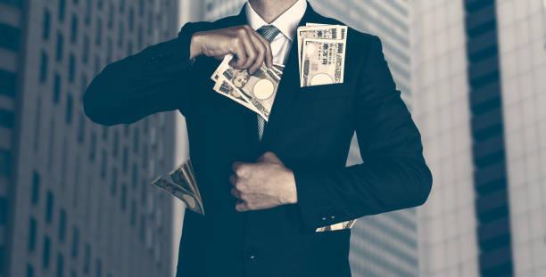 大企業、大きなお金 - 腐敗 ストックフォトと画像