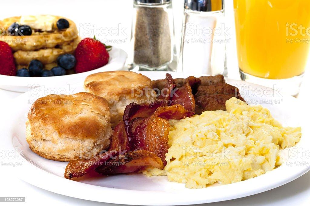 Big Country Breakfast stock photo