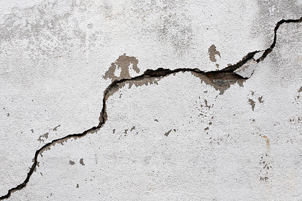 popękane ściany - popękany zdjęcia i obrazy z banku zdjęć