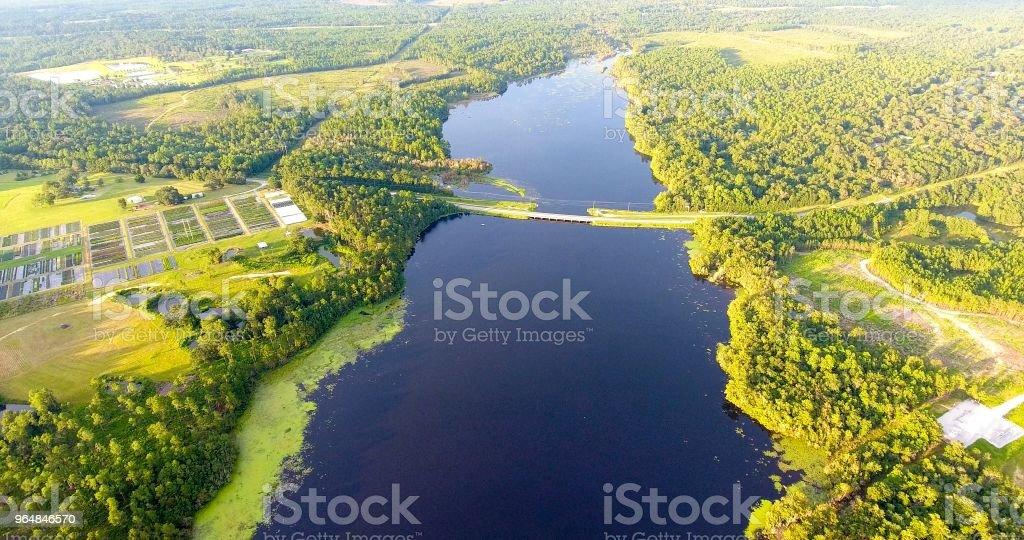 Big Creek Lake royalty-free stock photo