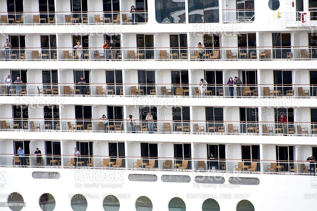big cruise liner royalty-free stock photo