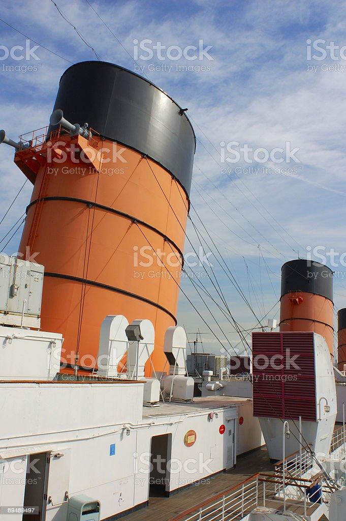 Big Cruise Ship royalty-free stock photo