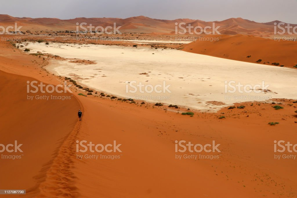 Big Daddy Sand Dune Sossusvlei Namibia Africa Stock Photo Download Image Now