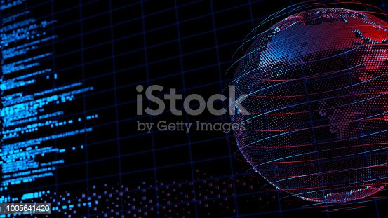 870658190 istock photo Big data abstract digital concept 1005641420