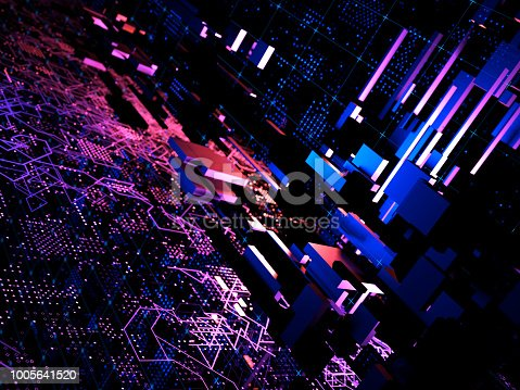 870658190 istock photo Big data abstract digital concept 1005641520