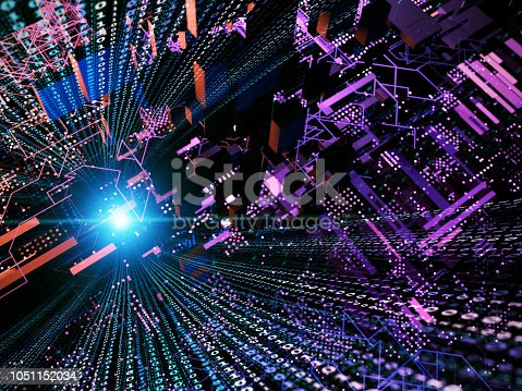 870658190 istock photo Big data abstract digital concept 1051152034