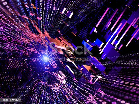istock Big data abstract digital concept 1051152078