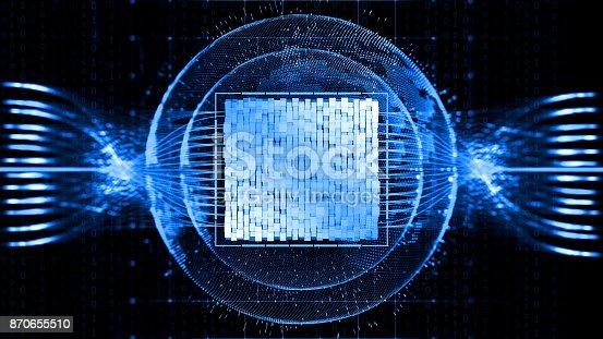 istock Big data abstract digital concept 870655510