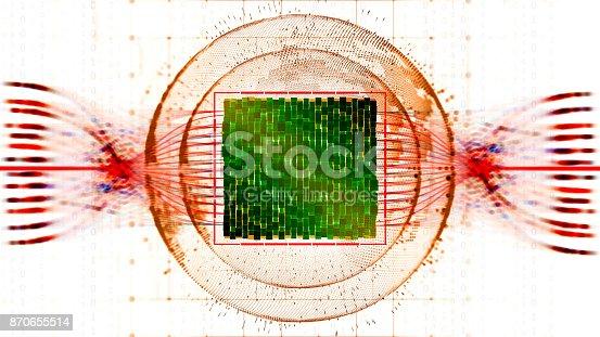 istock Big data abstract digital concept 870655514