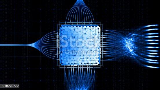 istock Big data abstract digital concept 918276772