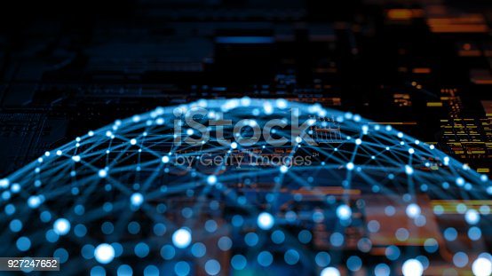 870658190 istock photo Big data abstract digital concept 927247652