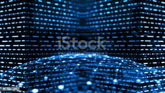 istock Big data abstract digital concept 927247662