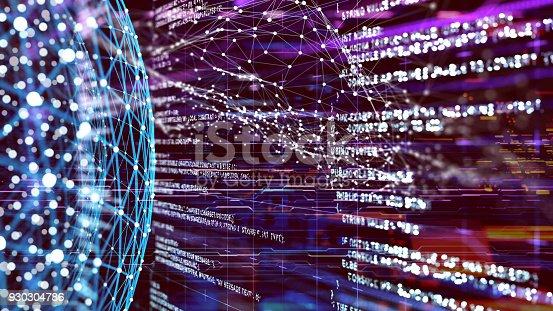 istock Big data abstract digital concept 930304786