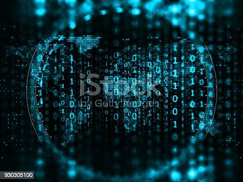 istock Big data abstract digital concept 930305100