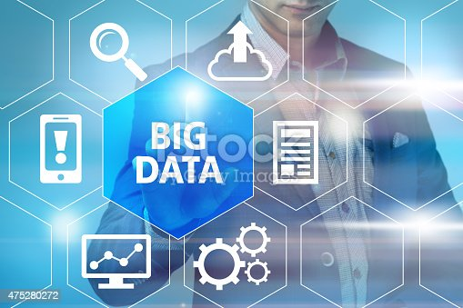 957759714istockphoto Big data concept man selecting and pressing Big Data symbol 475280272