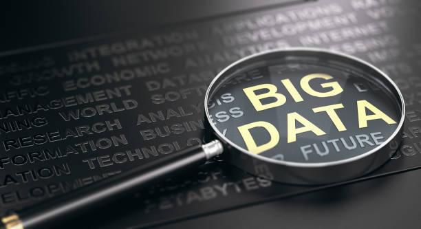 Big Data Definition Concept. stock photo