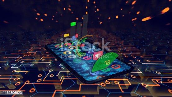 istock big data media concept phone 1135306823