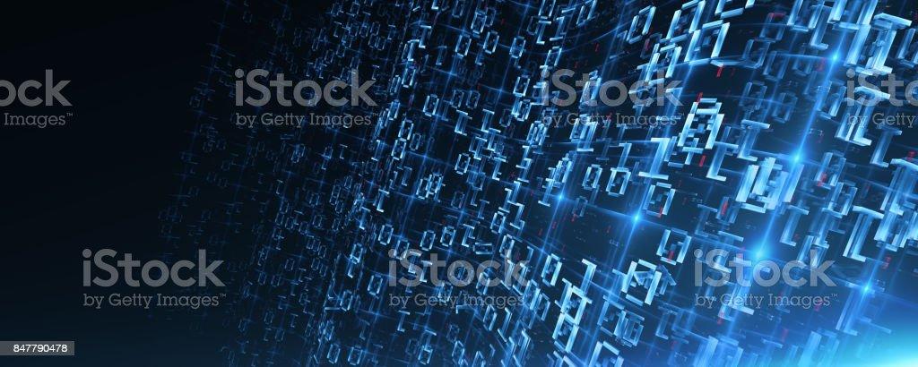 Grandes datos - foto de stock