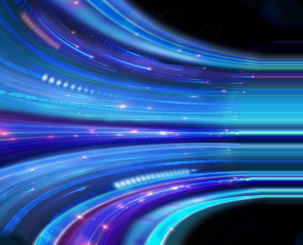Big Data Stream Graphic Two. stock photo