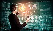 istock Big Data Technology for Business Finance Concept. 1201073981