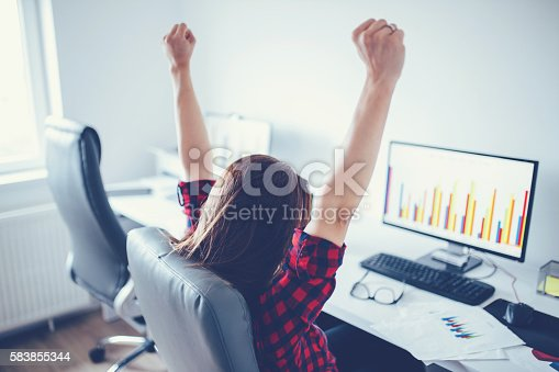 istock Big deal and victory 583855344