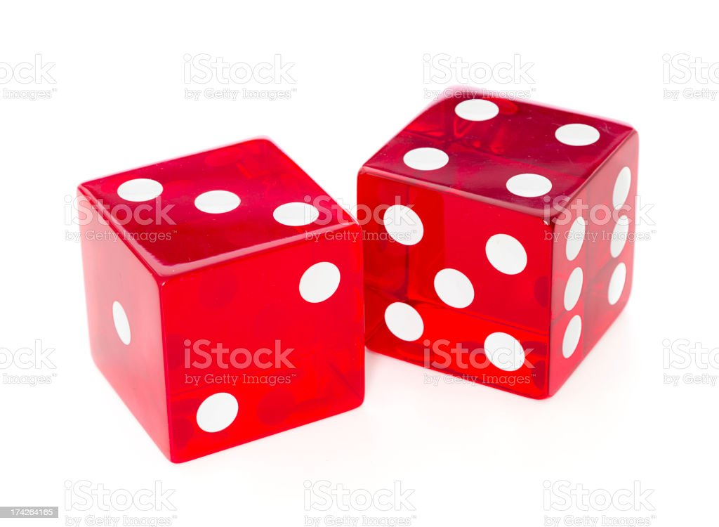 Big Dice stock photo