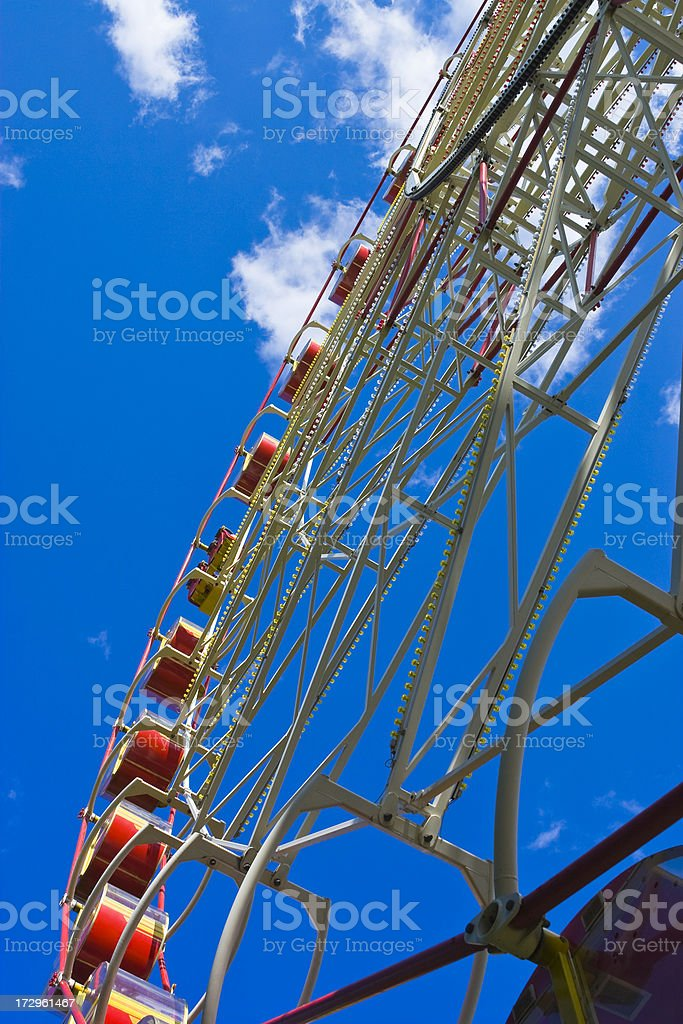 big dipper at fair royalty-free stock photo