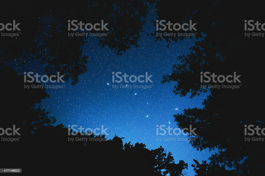 Big Dipper Constellation stock photo