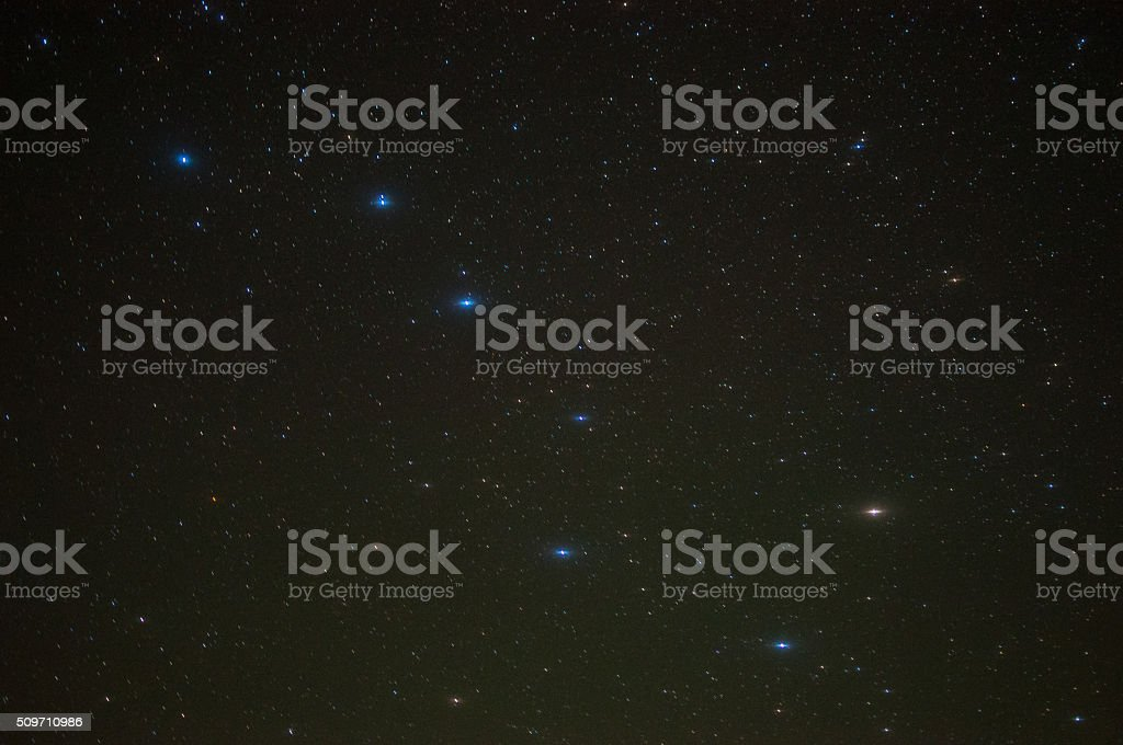 Big Dipper Photo taken at Manitoulin Island, Canada of the Big Dipper. Astronomy Stock Photo