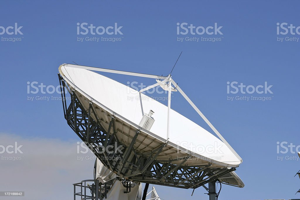 Big Dish royalty-free stock photo