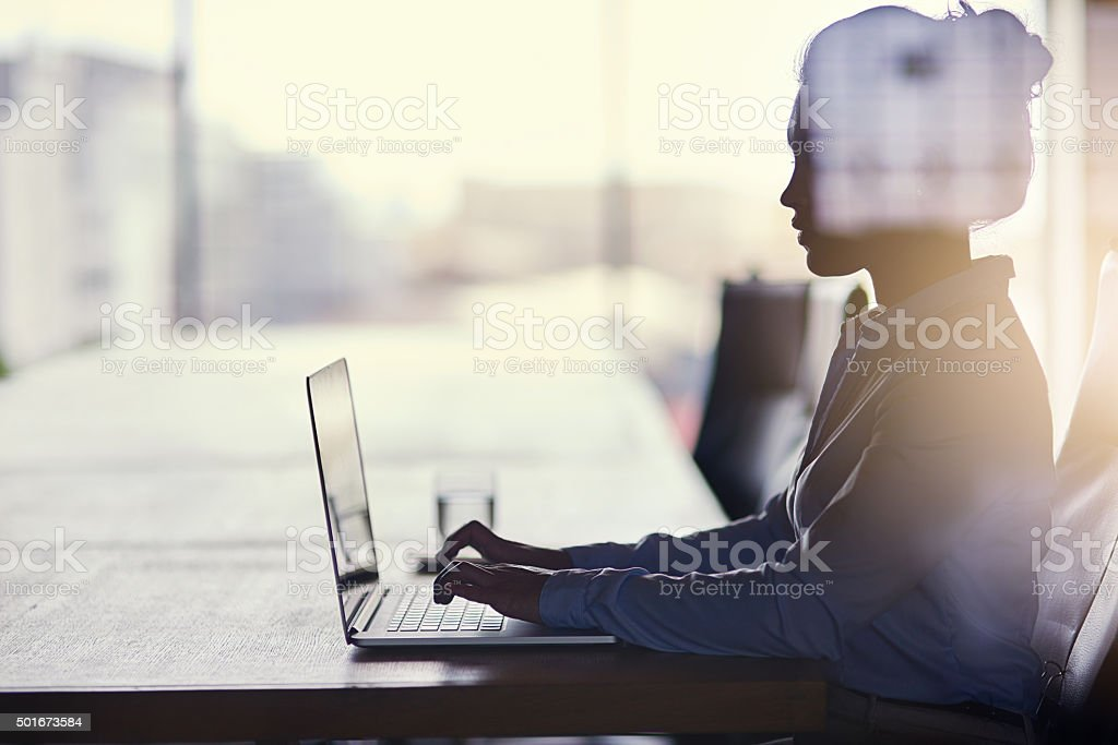Big dreams require hard work stock photo