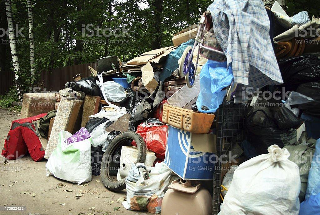 big dump royalty-free stock photo