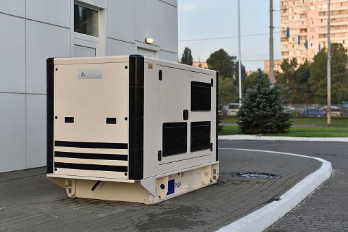 big diesel electric generator