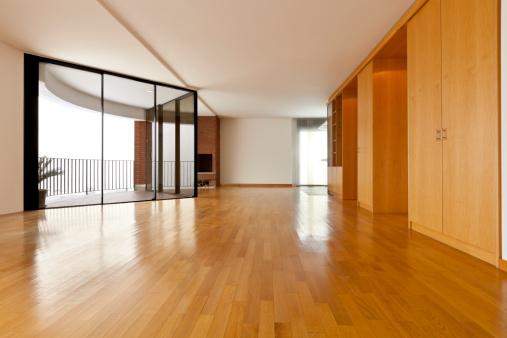 Große Leeren Zimmer Stockfoto und mehr Bilder von Architektur