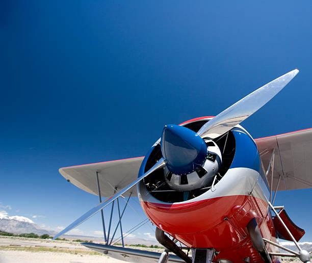 Big Engine, Little Wings stock photo