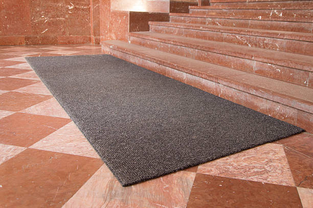 Big entrance door mat Big entrance door mat alternately stock pictures, royalty-free photos & images