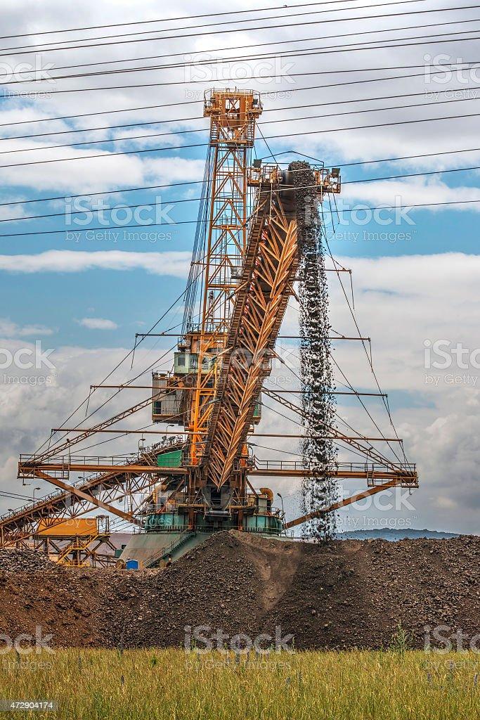 Big Excavator stock photo