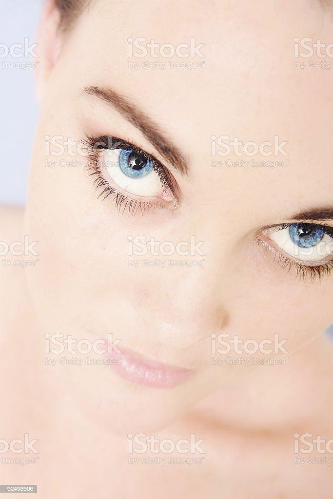 Big Eyes royalty-free stock photo