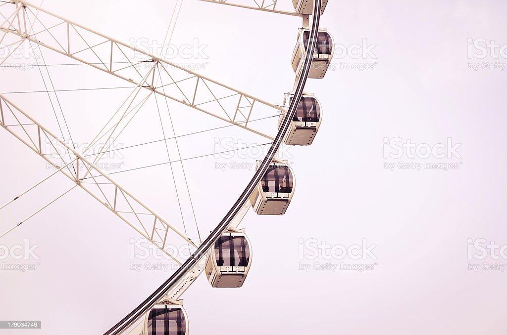 Big ferris wheel royalty-free stock photo