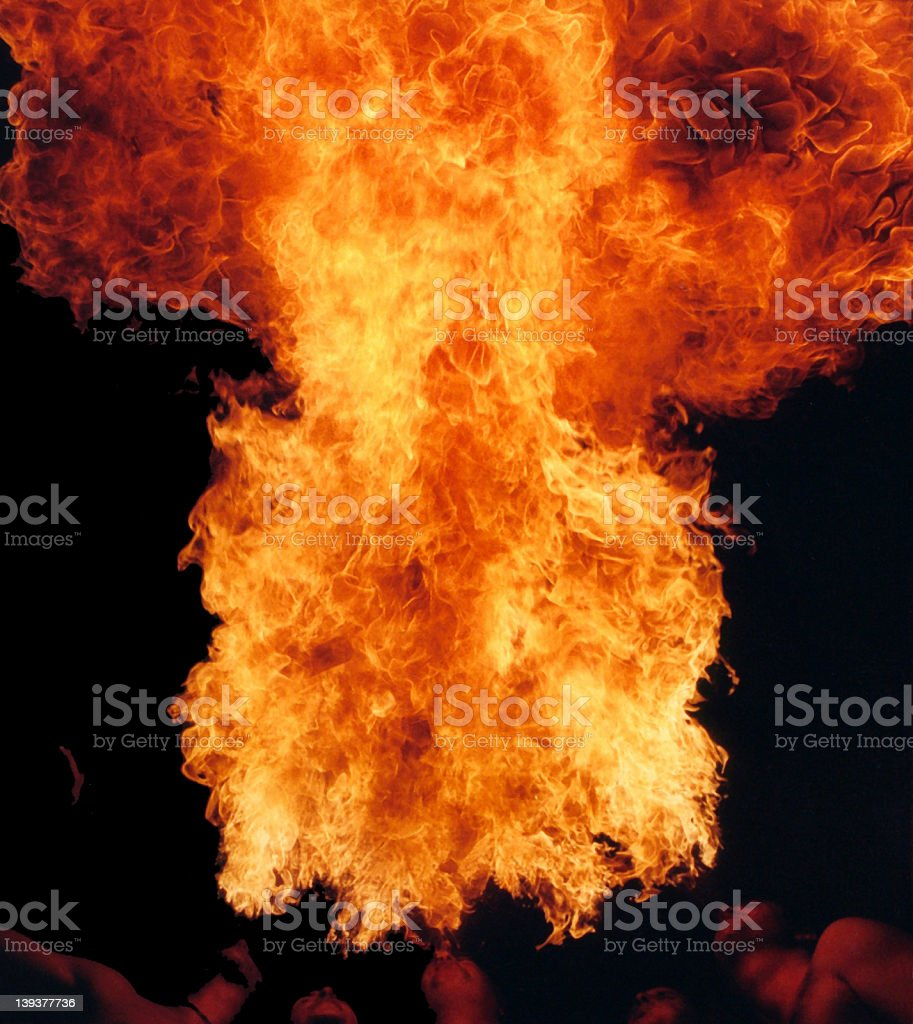 Big Firebreath stock photo
