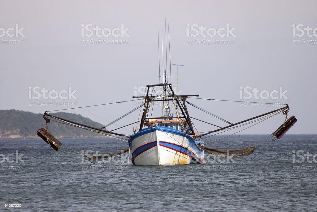 Big fishing boat royalty-free stock photo