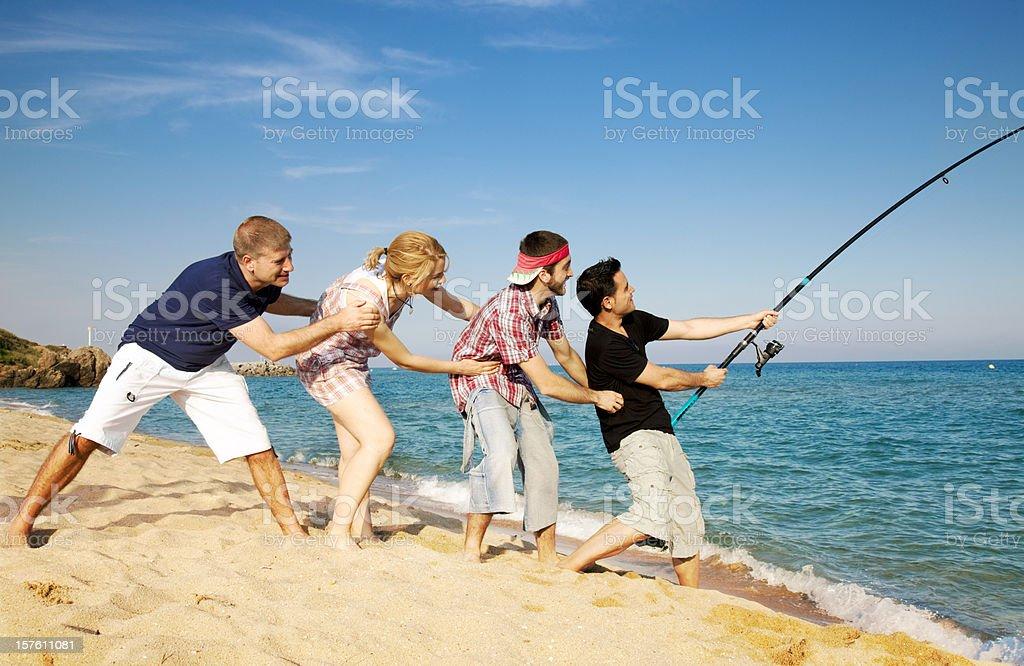 Big fishing catch royalty-free stock photo